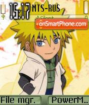 Hokage Cute Naruto theme screenshot