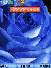 Blue Roses theme screenshot