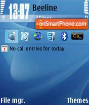 Macosx theme screenshot