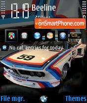 Bmw 35csl theme screenshot