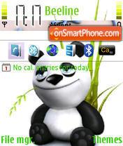 Dear Panda es el tema de pantalla