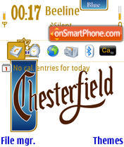 Chesterfield theme screenshot