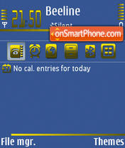 Blugold theme screenshot