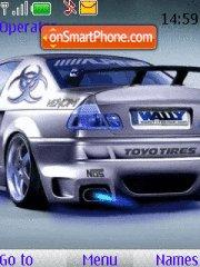 Bmw Car tema screenshot