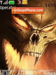 Evil theme screenshot