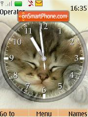 Cats Clock theme screenshot