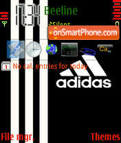 Adidas2 theme screenshot