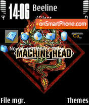 Machine Head 01 theme screenshot