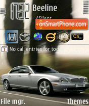 Jaguar Xj theme screenshot