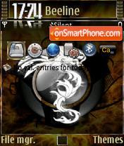 Brown Dragon Final theme screenshot