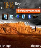Dark Sky 02 es el tema de pantalla