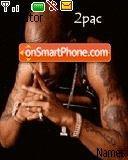 2 Pac es el tema de pantalla