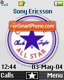 Converse All Star 01 es el tema de pantalla