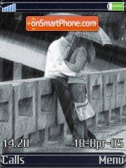 Kiss In The Rain es el tema de pantalla