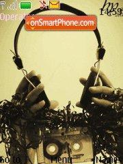 Capture d'écran Music Headphones thème