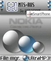Nokia Smart theme screenshot