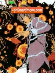 Скриншот темы Death Note Kira