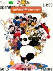 Ranma 1/2 theme screenshot