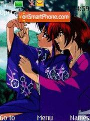 Rurouni Kenshin theme screenshot
