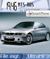 BMW 5 theme screenshot