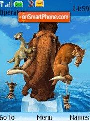 Ice Age theme screenshot