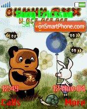 Winni Pooh es el tema de pantalla