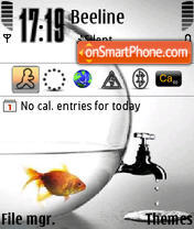 Скриншот темы Save Water
