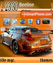 Nissan 350z 05 theme screenshot