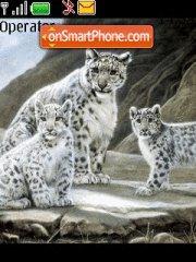 Snow Leopard Theme-Screenshot