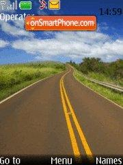 Road theme screenshot