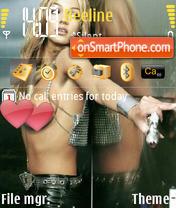 Скриншот темы Brithey Spears
