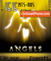 Angel Gold es el tema de pantalla