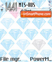 Diamonds1 theme screenshot