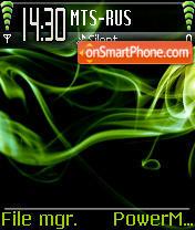 Green Smoke theme screenshot