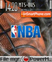 Nba2 theme screenshot