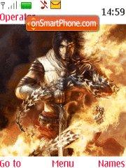 Prince of Persia theme screenshot