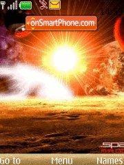 Sun theme screenshot