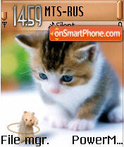 Cat n Mouse es el tema de pantalla