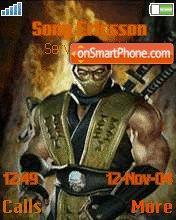 Scorpion 1 theme screenshot