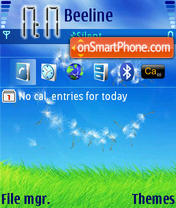 Summer 04 theme screenshot