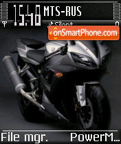 Yamaha R1 theme screenshot