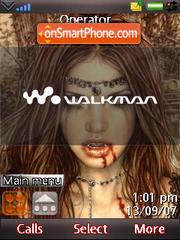 Vampires theme screenshot