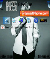 Скриншот темы Eminem