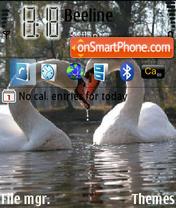 Lebedi theme screenshot