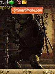 Скриншот темы Teenage Mutant Ninja Turtles