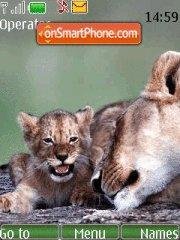 Скриншот темы Lions