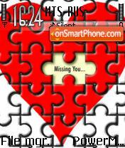 Heart Collage es el tema de pantalla