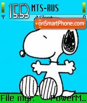 Snoopy es el tema de pantalla