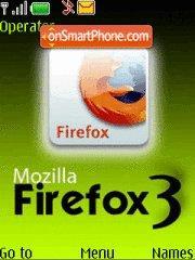 Fire Fox 3 theme screenshot