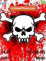 Bloody Skull theme screenshot
